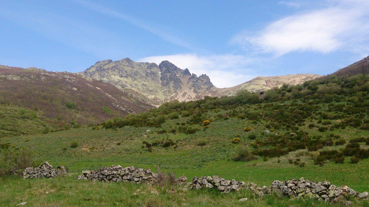 Pico Curavacas desde las proximidades de Vidrieros