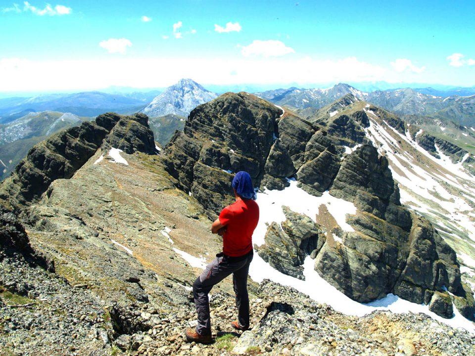 Pico Curavacas. Vistas desde la cumbre