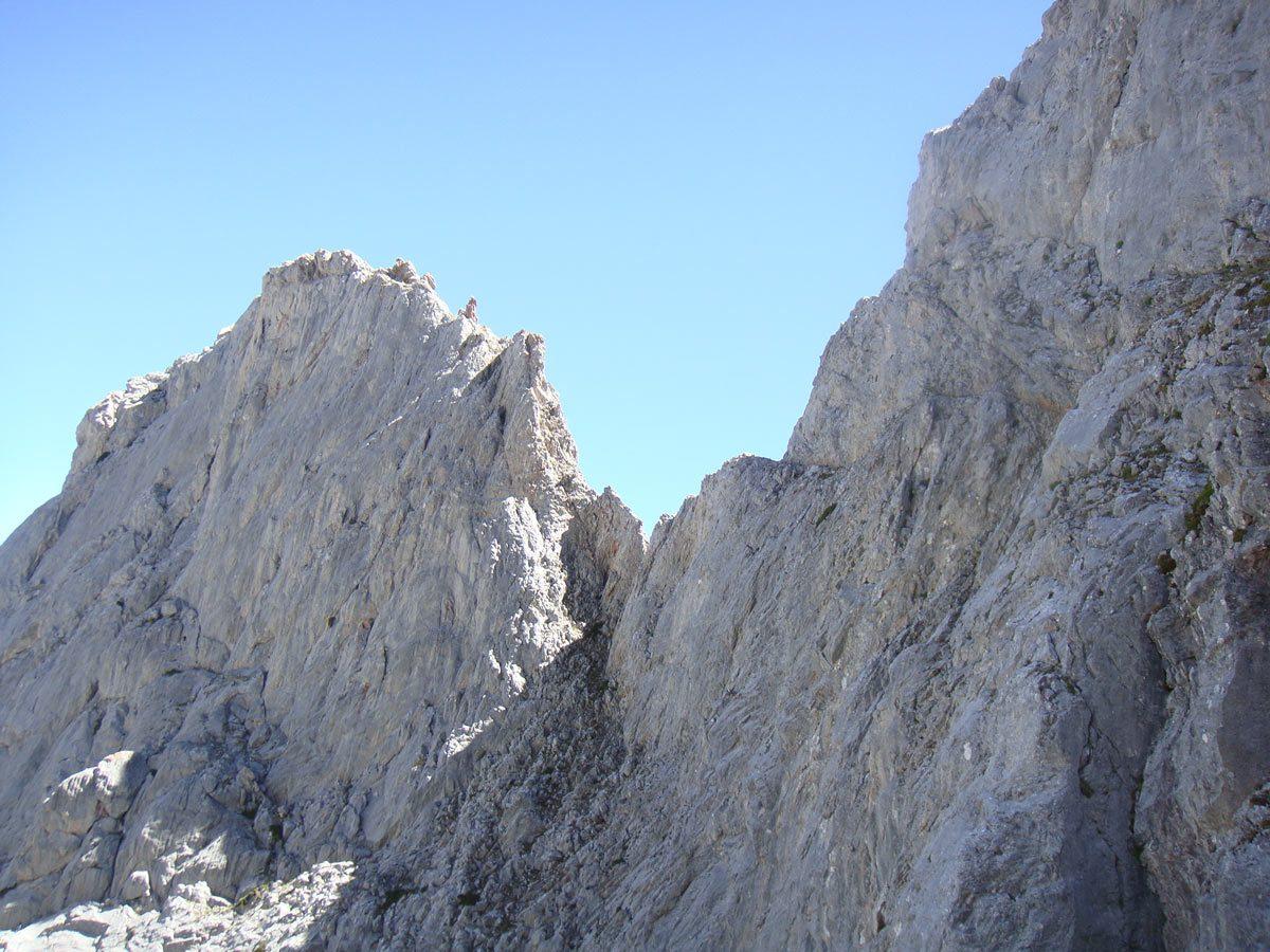Torre de la Uve. Corredor norte del Espigüete