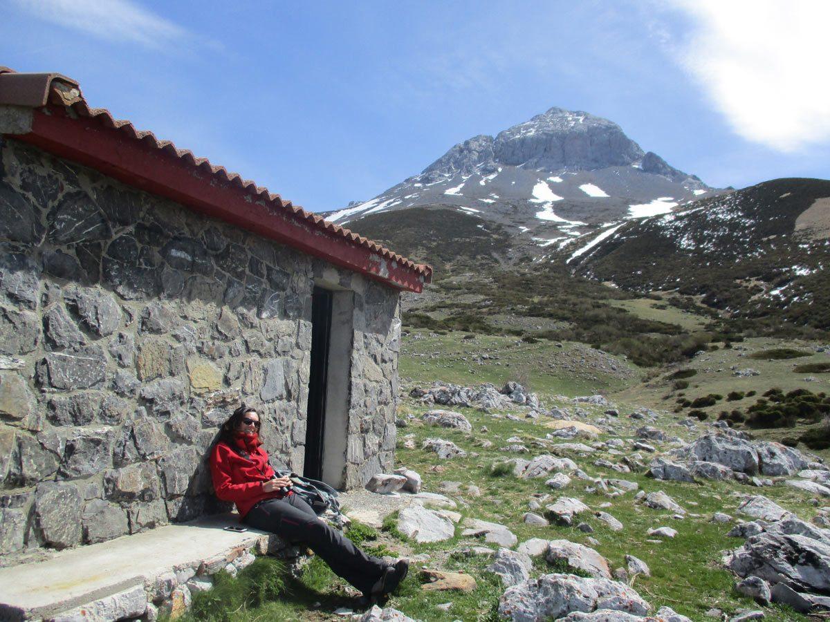 Cara oeste del Pico Espigüete