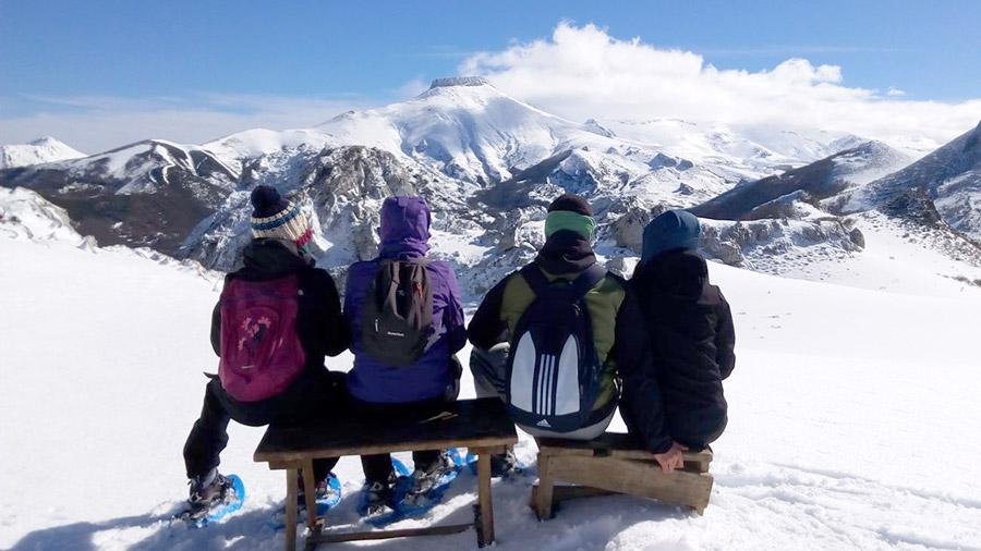 Valles y Cumbres - Raquetas de nieve